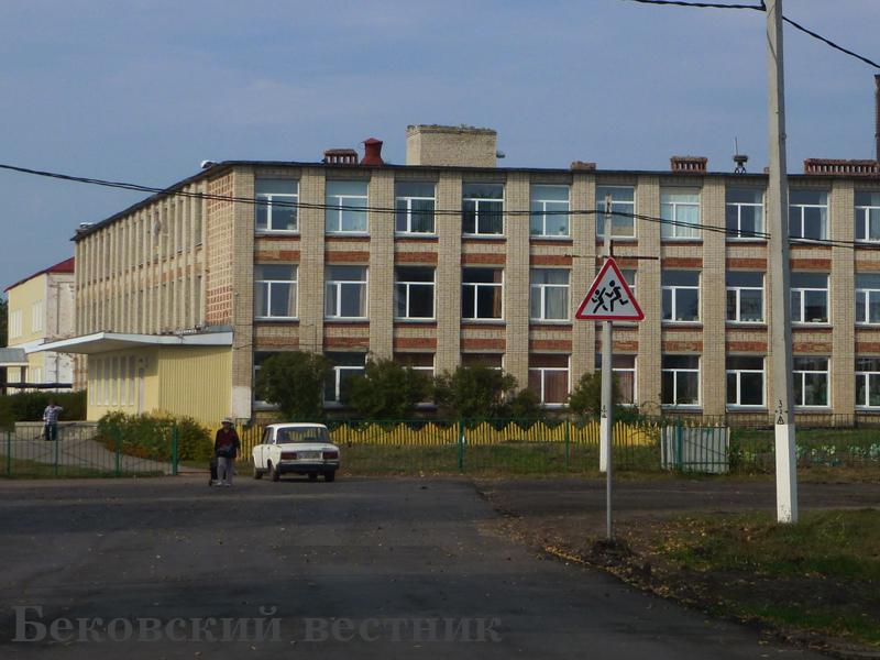 Возле средней школы № 1 р.п. Беково установлены все знаки ДД.